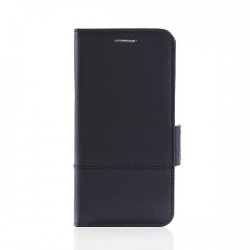 X-SHELL S7 防電磁波真皮手機皮套 (旗艦黑)