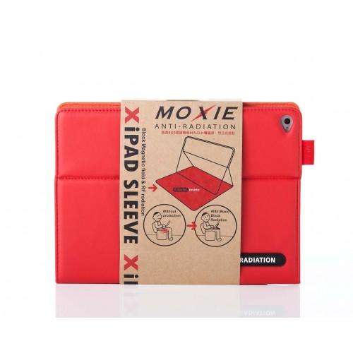 X iPAD Air 2 SLEEVE 防電磁波可立式潑水平板保護套 (皮紋蘋果紅)
