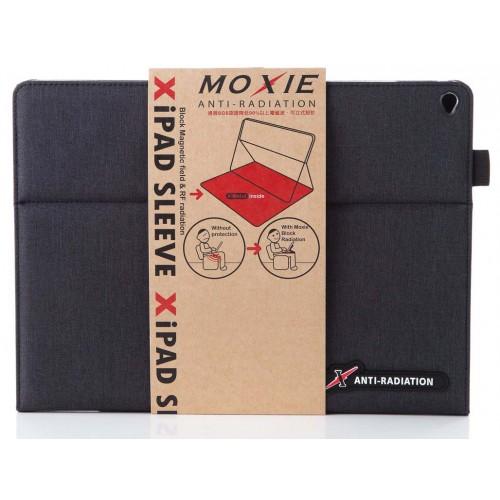 X iPAD Pro SLEEVE 防電磁波可立式潑水平板保護套 (織布紋鐵灰黑)
