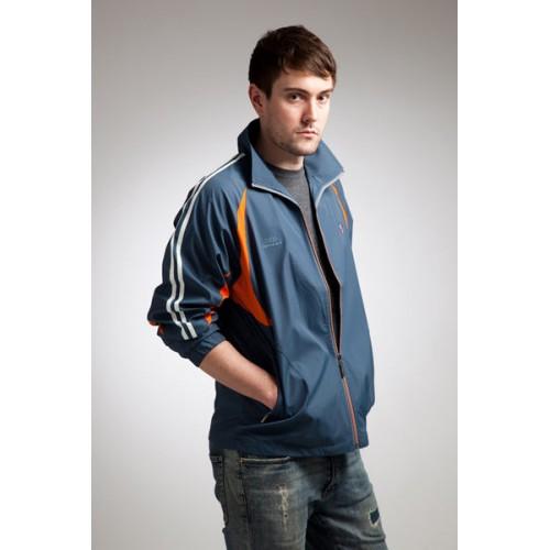 電磁波防護衣運動風衣外套(淺藍)