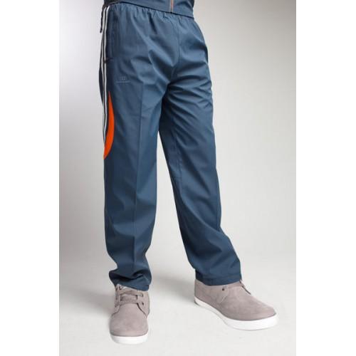 防護運動風衣褲子(灰藍)